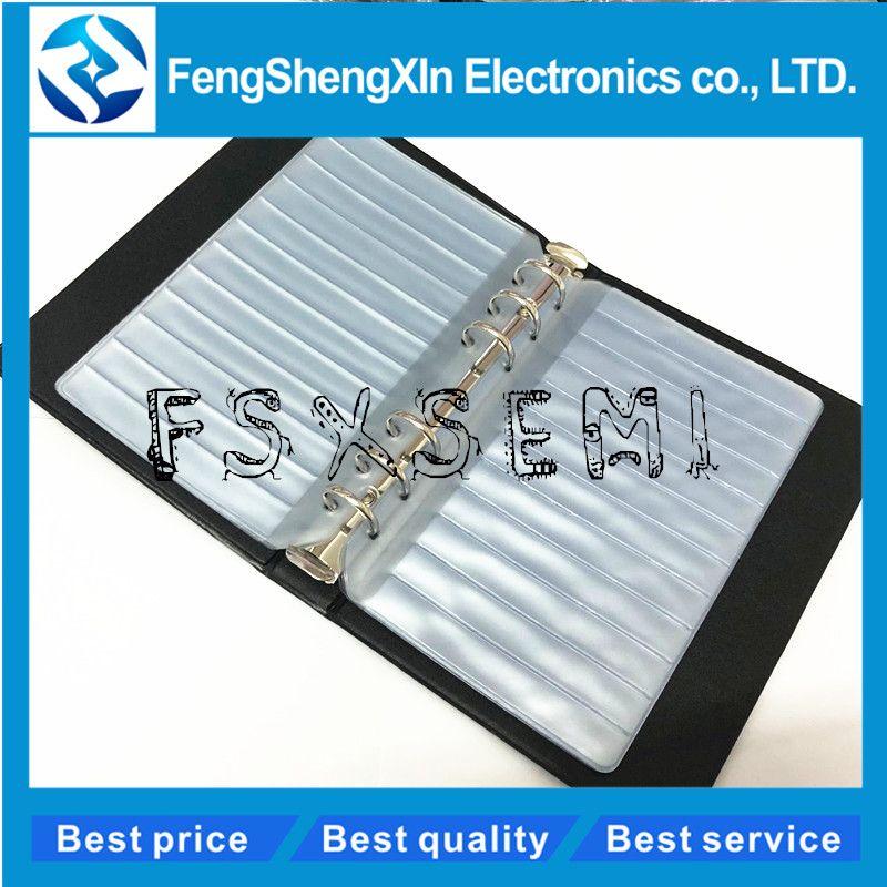 Résistance condensateur inducteur IC SMD composants vide échantillon livre pour 0402/0603/0805/1206 composant électronique avec 15 Pages vides