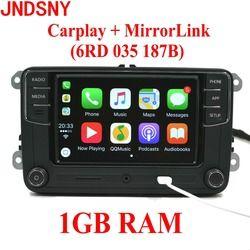 JNDSNY RCD330G CarPlay RCD330 Plus CarPlay Voiture Radio Pour VW Tiguan Golf 5 6 Jetta MK5 MK6 Passat Polo Touran 6RD035187B