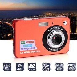 Portable Digital Camera 2.7 inch LCD HD Cute 8x Digital Camcorder Video Player Fashion DV Camera for Children Gift