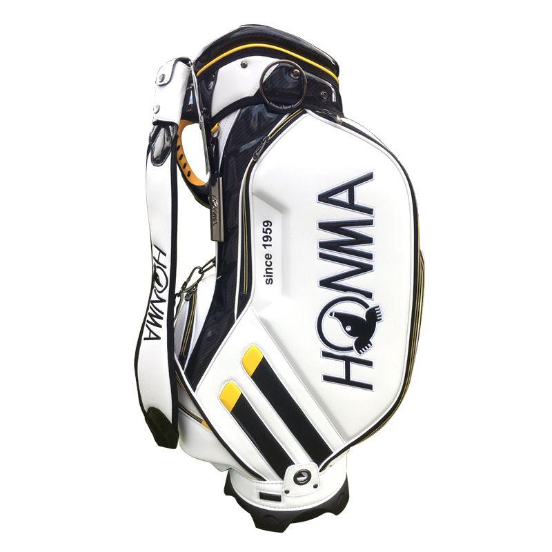 New Cooyute Golf bag High quality PU Golf clubs bag in choice 9.inch HONMA Golf Cart bag Standard Ball Package Free shipping