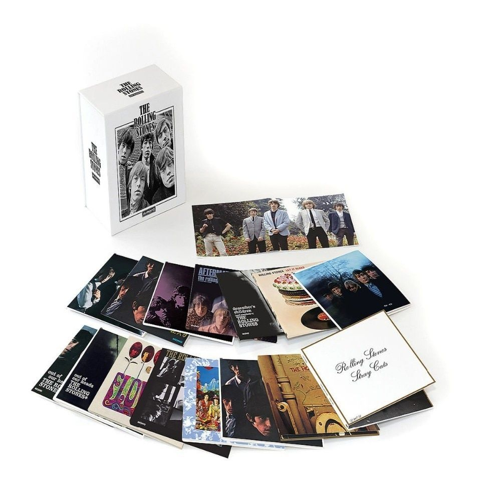 New High Quality Rolling Stone in mono Stones LIMITED 15CD BOX SET CD Boxset music box sets Disc not cheap quality like others.