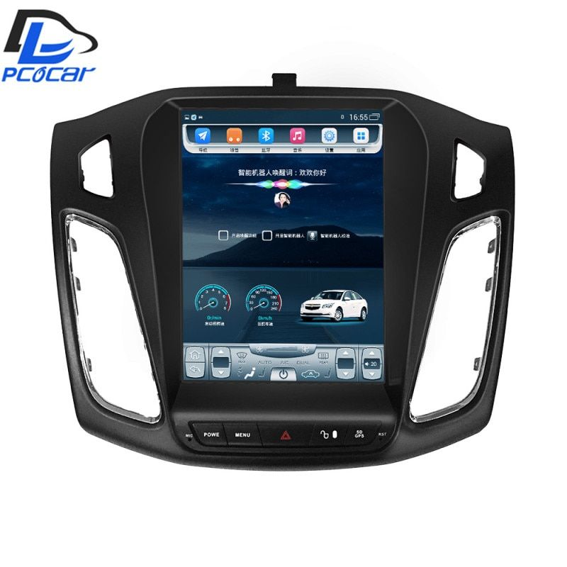 32G ROM Vertical screen android car gps multimedia video radio player in dash for ford focus 2012-2016 years navigation stereo