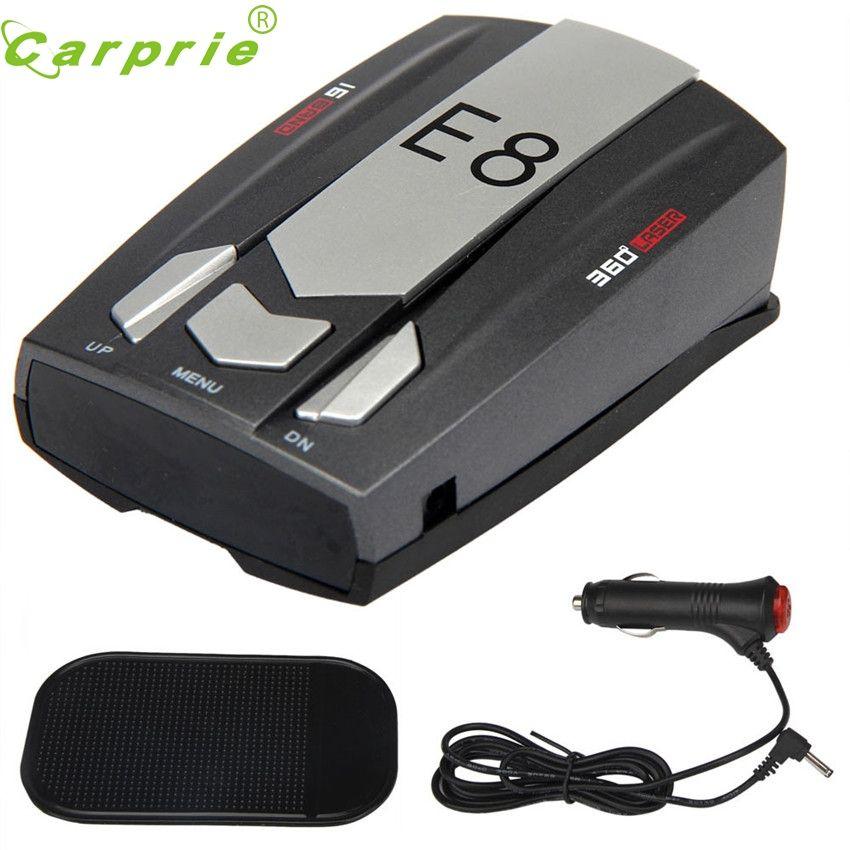CARPRIE Super drop ship Fahsion New Radar Gun Speed Wireless Detector Car Motorbike 16 Band 360 Degree E8 Mar712