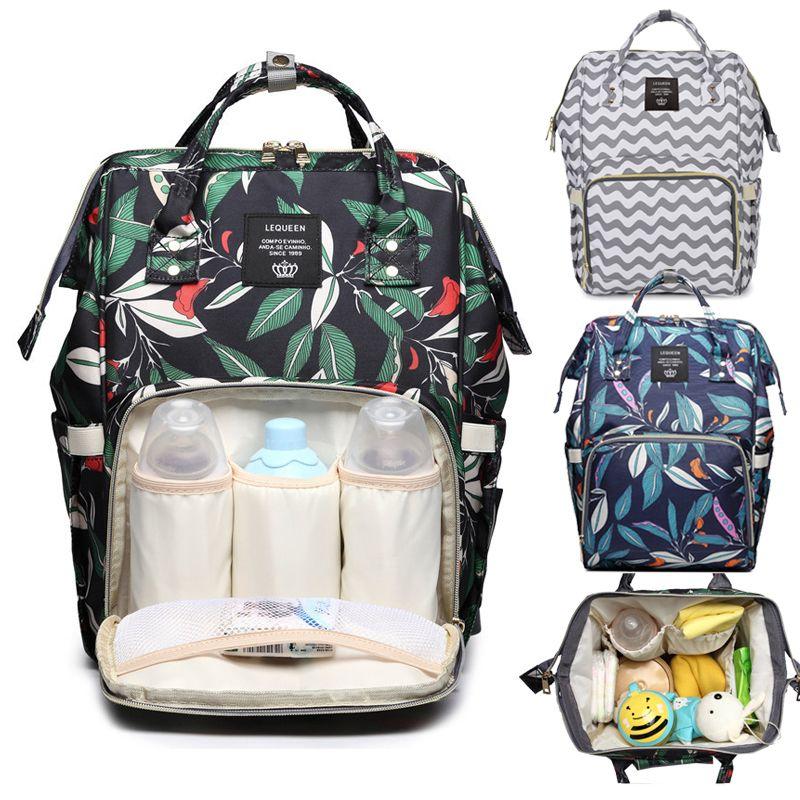 Sac à langer sac à dos maman sac maternité grande nappy sac Bolsa Maternida imprimé Bebe bébé sac de voyage sac à dos bébé soin wetbag