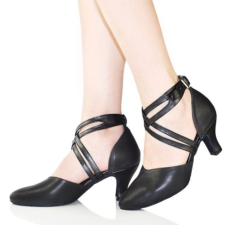 Retail Basic Latin Dance Shoes Woman High Heel 5,6,8cm for Salsa Modern Dance Shoes Indoor/Outdoor Ballroom Dancing Shoe 6401