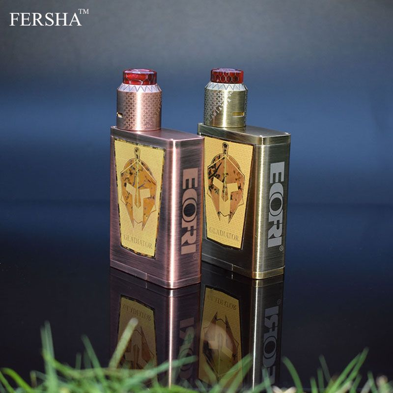 FERSHA Original Gladiator ECOFRI Electronic Cigarette with 200W Multimode 510 Gladiator Mod and RDA Nebulizer GT Coils