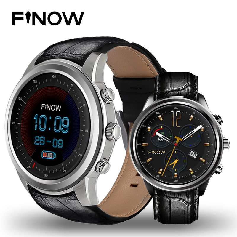 Finow X5 Air Smart Uhr Android 5.1 Ram 2 GB/Rom 16 GB MTK6580 Watchphone 3G Bluetooth für Andorid/IOS PK Ii/I4 pro Smartwatches