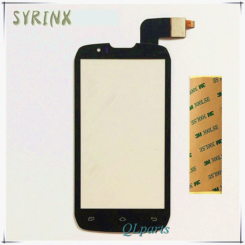 Syrinx With 3M Tape Moible Phone Touch Screen Digitizer For Highscreen Boost Touchscreen Front Panel Glass Lens Sensor Touchpad