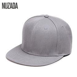 Бренд nuzada хип-хоп Шапки Для мужчин Для женщин Бейсболки для женщин Snapback сплошной Цвета хлопок кости Европейский Стиль классический тенденц...