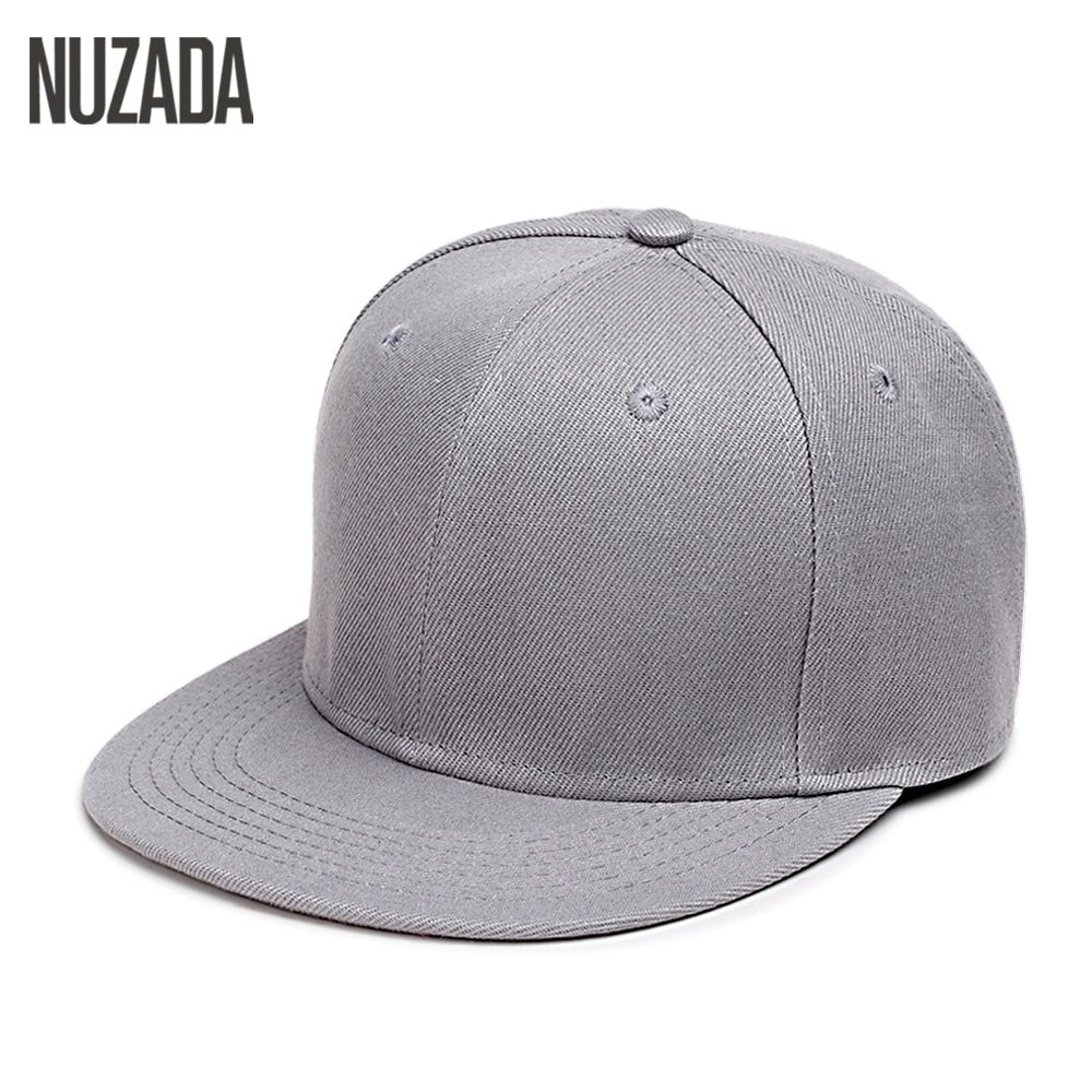 Brand NUZADA Hip Hop Hats Men Women Baseball Caps Snapback Solid Colors Cotton Bone European Style Classic Fashion Trend