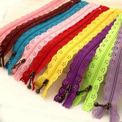 10 Pcs 20 cm DIY Nylon Coil Dentelle Zipper pour vêtements Invisible Fermetures Sur Mesure Couture Zip Fermeture Artisanat À Coudre accessoires aléatoire