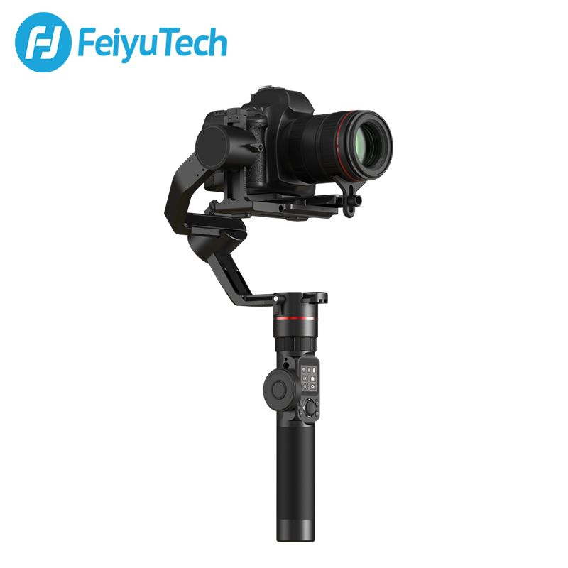 FeiyuTech AK2000 3-Achsen Kamera Stabilisator Gimbal mit Fokus Ring für Sony Canon 5D Panasonic GH5 Nikon 5D 2,8 kg Nutzlast Feiyu