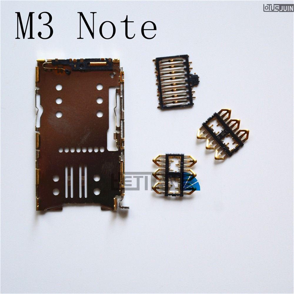 1 STÜCKE für Meizu M3 Hinweis M2 M3 MINI MINI M3S mini/M2 Hinweis/M5 MINI METALL Sim-kartenleser-anschluss Halter Tray Slot Sockel