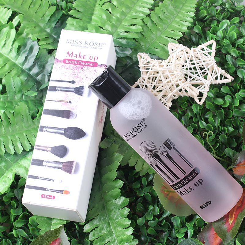 Pinceau de maquillage nettoyant liquide nettoyant rapidement Blush, outil de nettoyage nettoyant bouffée 180 ml professionnel