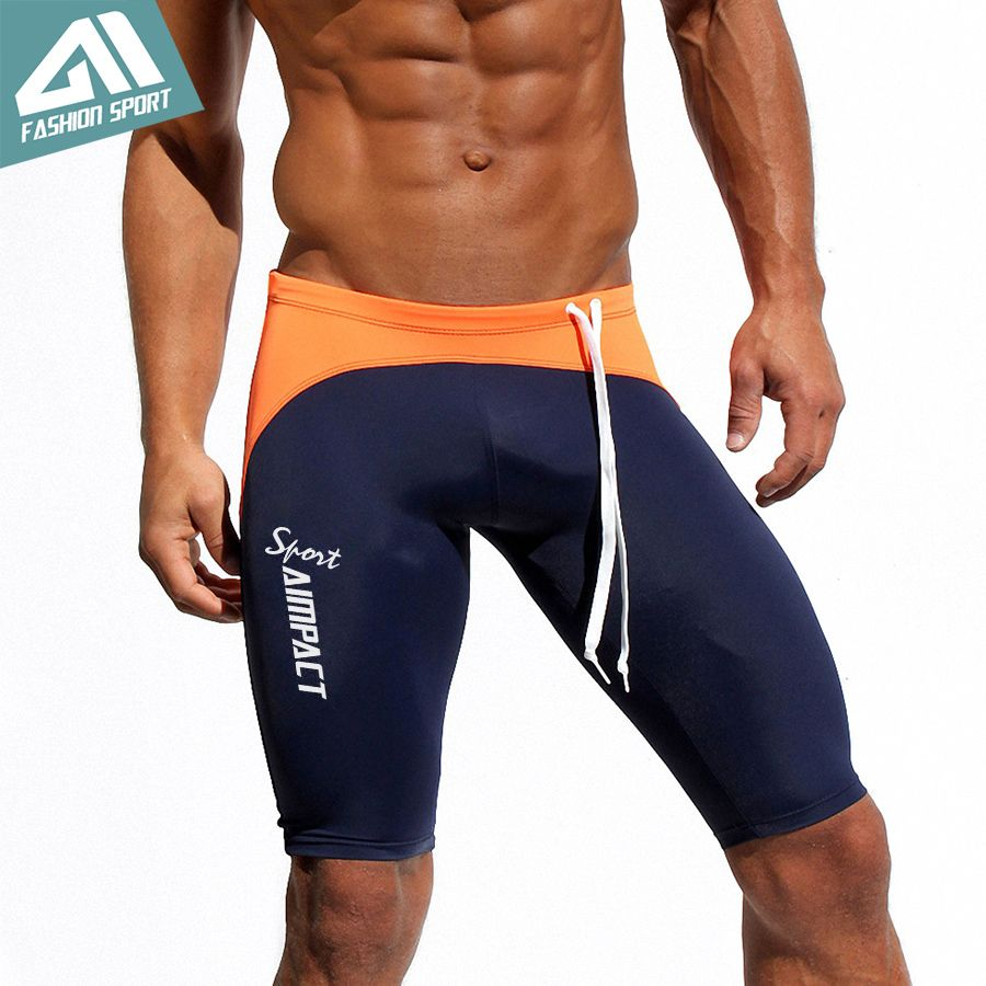 Athletic Men's Sport Tight Shorts Fitness Mens Shorts Gym Men Workout Shorts Skinny Running Yoga Trunks Men's Biker Shorts AM12