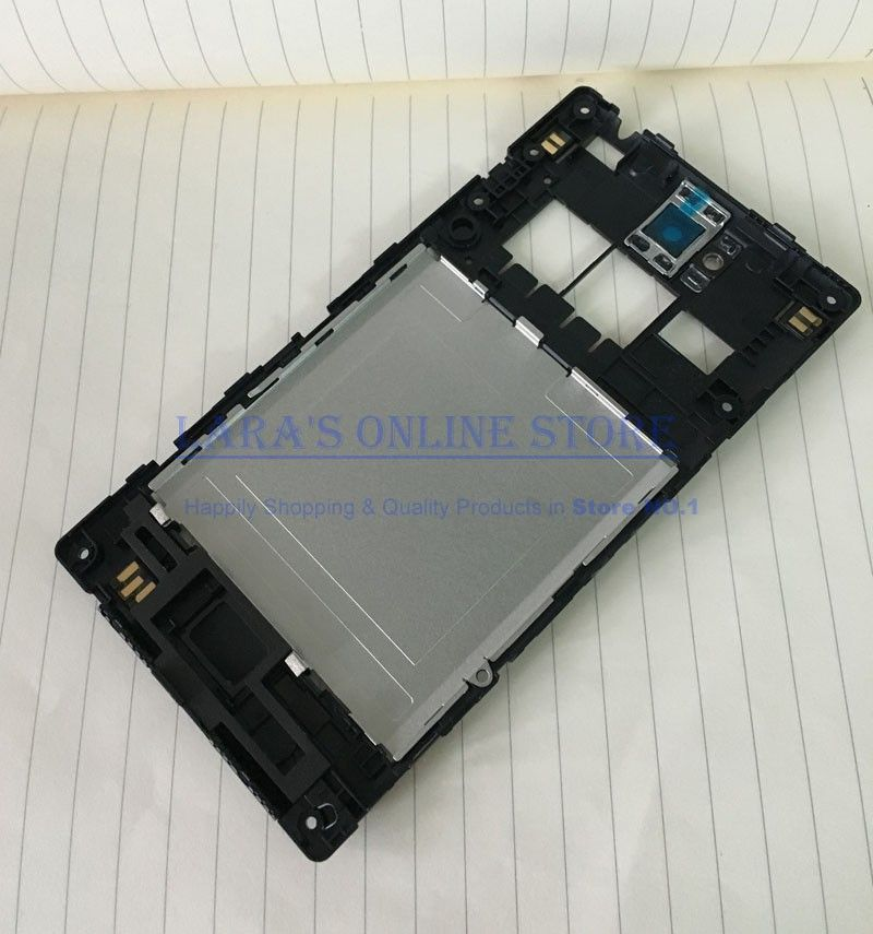Original Back Battery Housing Frame Housing For Sony Xperia C S39h S39 C2305 Middle Frame +Camera Lens +Flash Repair Parts