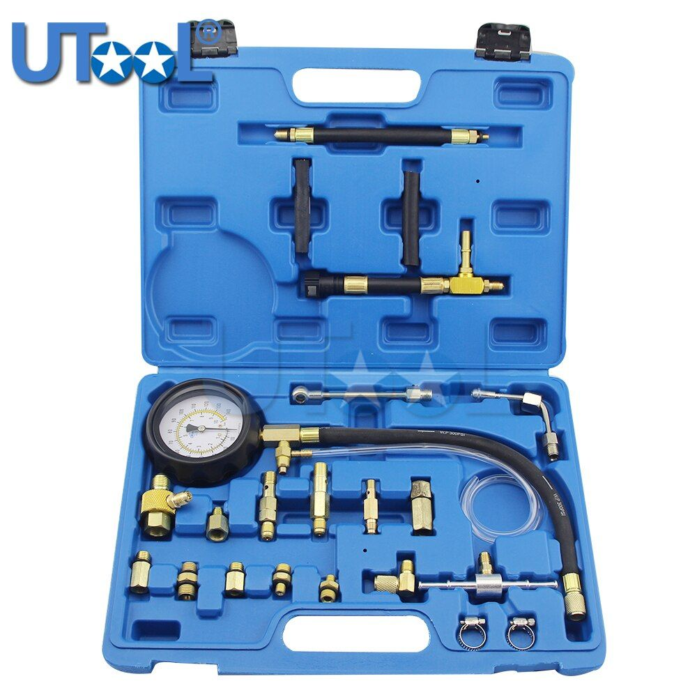 TU-114 Fuel Pressure Gauge Auto Diagnostics Tools For Fuel Injection Pump Tester
