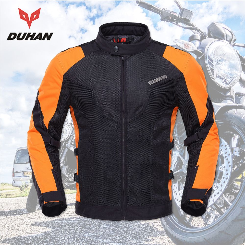 DUHAN motorcycle jacket men equipment summer Breathable Motorbike Jacket Motocross Off-Road Jaqueta Cloth Racing Moto