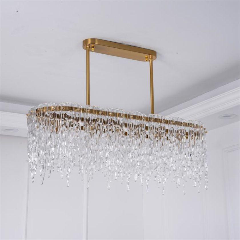 Restaurant licht led streifen wohnzimmer kronleuchter Nordic kreative persönlichkeit tisch bar lampe einfache licht luxus villa lam