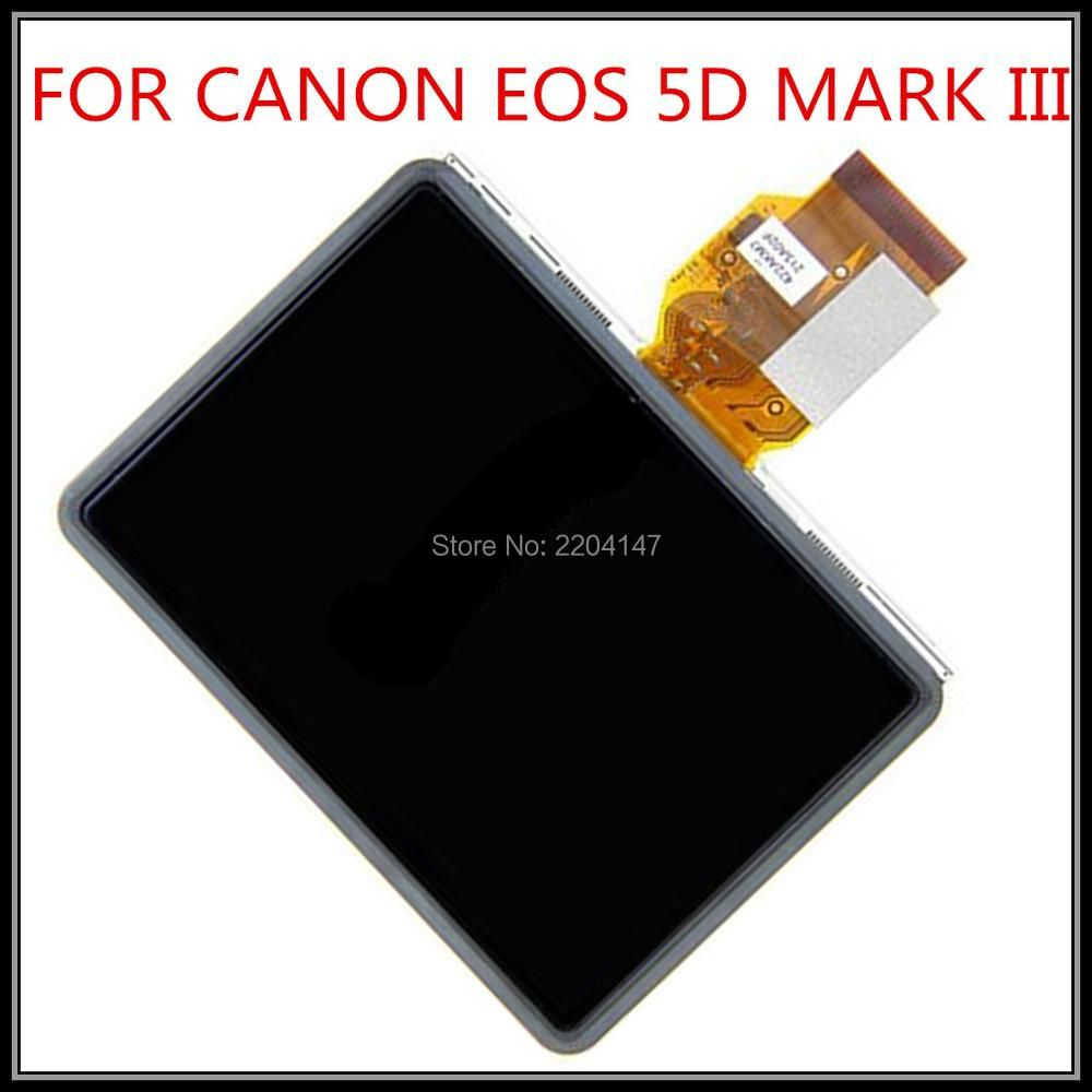 100%NEW LCD Display Screen Repair Parts for CANON EOS 5D Mark III 5DIII 5D3 1DX EOS-1D X Digital Camera With Backlight And glass