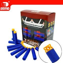Waffle Darts 100 Pcs 7.2 Cm Isi Ulang untuk NERF Series Blasters Anak Pistol Mainan
