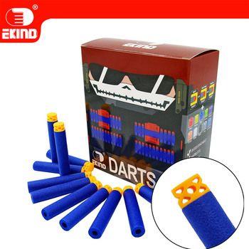 Waffle Darts 100pcs 7.2cm Refill for Nerf Series Blasters Kid Toy Gun