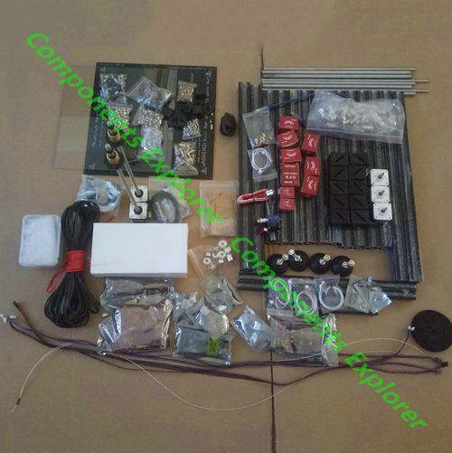 Voll Kits für HyperCube Evolution Dual Z Axises Schwarz 3D Drucker 300*300*300