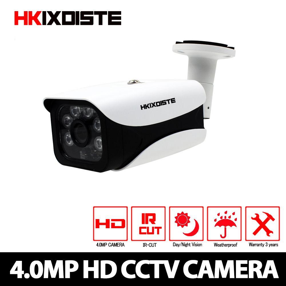 CCTV Kamera CCD Sensor 2560*1440 p 4MP IR-Cut Filter AHD Kamera Indoor/Outdoor Wasserdicht 3,6mm Objektiv Sicherheit 4.0MP Kamera
