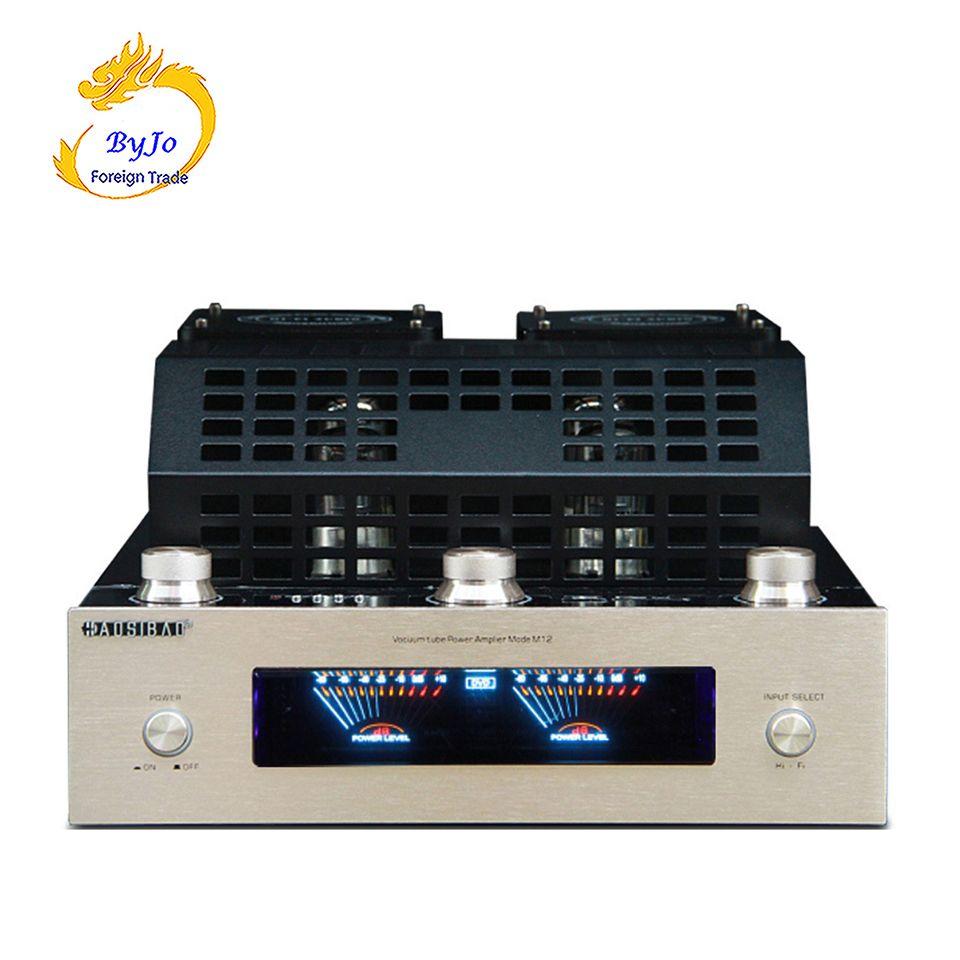 M12 HALLO-FI Bluetooth Vakuumröhre Stereo-verstärker unterstützung USB audio-leistungsverstärker BASS hifi ausgang 2 unterstützung 220 V oder 110 V