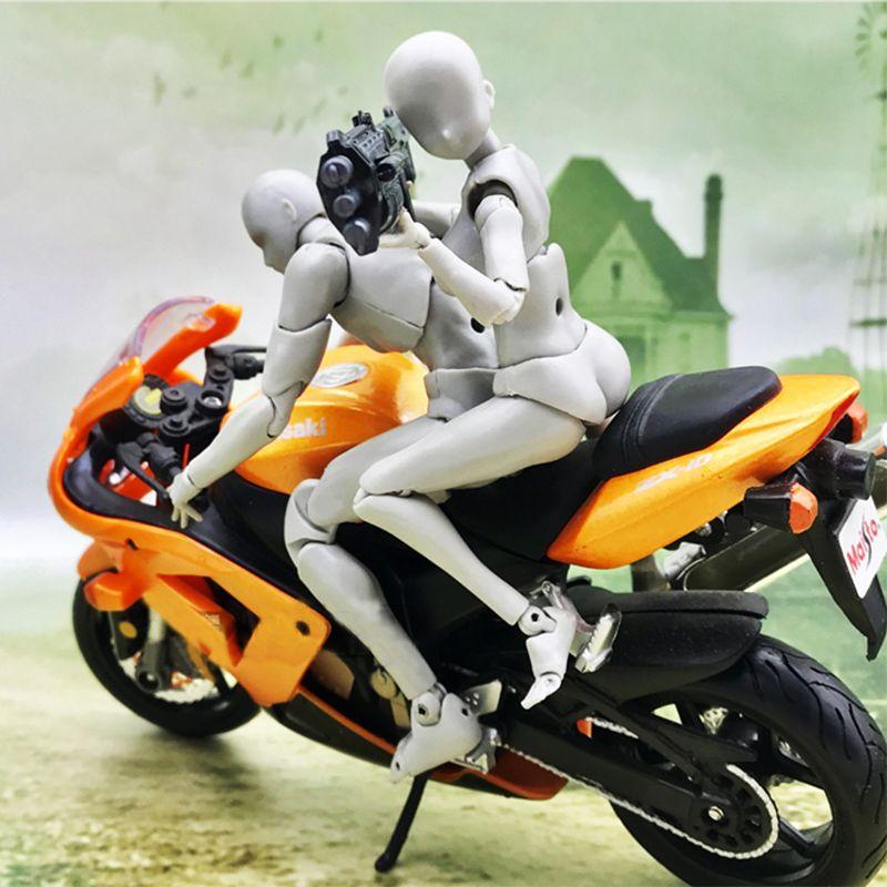 CORPS KUN CORPS CHAN Anime Archétype Il Elle Moto Ferrite Figma Mobile PVC jouets figurines d'action pour les Enfants Collection Modèle