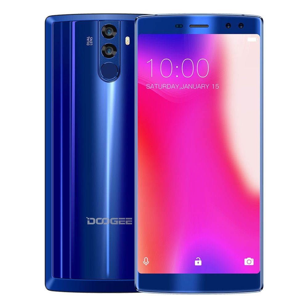 NEW DOOGEE BL12000 Smartphone 6.0'' 4GB RAM 32GB ROM Quad Camera 16.0+13.0MP 16.0+8.0MP MTK6750T Octa Core 4G Android 7.0 phones