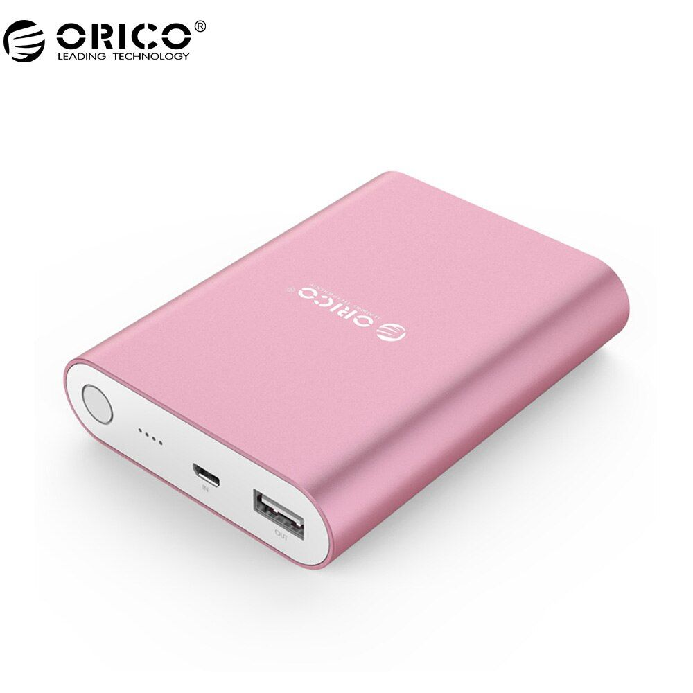 ORICO Q1 USB Portable External Battery, 10400mAh Power Bank, Quick Charger QC 2.0 for Your Electric Device (Q1-BK)
