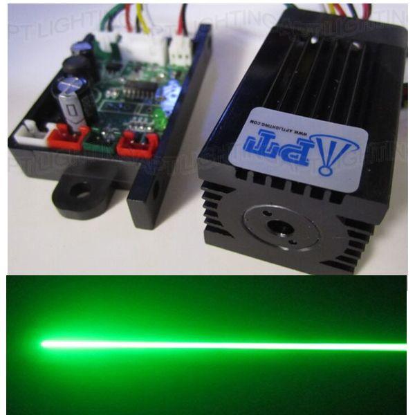 Супер лазер стабильный 200 МВт 532нм зеленый лазерный модуль сценический свет RGB лазерная головка модуль диодный лазер ttl DC 12 В в luces lazer лампы