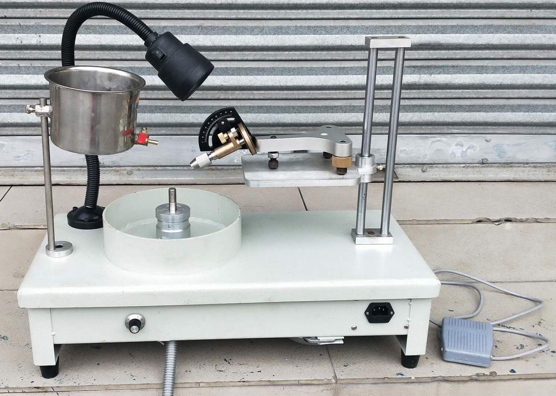 Edelstein Facettierung Maschine Jade Stein Winkel polieren Maschine Schmuck Polierer Flache Grinder Edelstein gesicht schleifen Geschwindigkeit Einstellbar