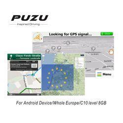 L'europe GPS CARTE avec 8G SD carte Russie/Espagne/France/Allemagne/Italie/ROYAUME-UNI/toute L'europe pays pour Android dispositif de voiture navigation