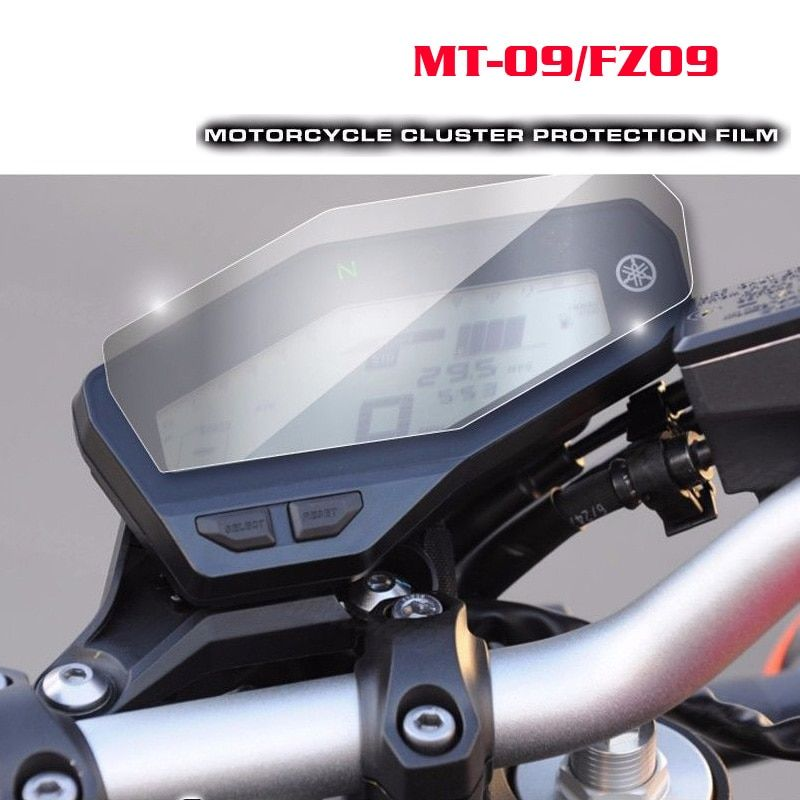 New For Yamaha MT-09 FZ-09 MT09 Cluster Scratch Protection Film Screen Protector for Yamaha FZ09 MT 09 2014 2015 2016