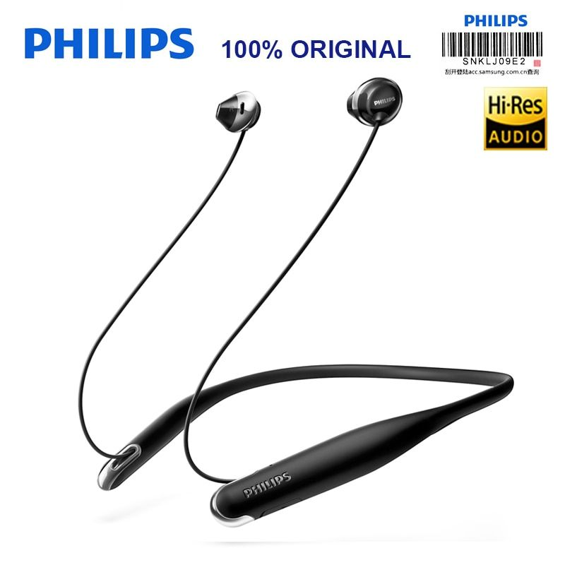 Philips SHB4205 Wireless Headphones/ Bluetooth Earphone/ Neckband Headsets Lithium polymer for Xiaomi S8 Hua Wei With Free Gift