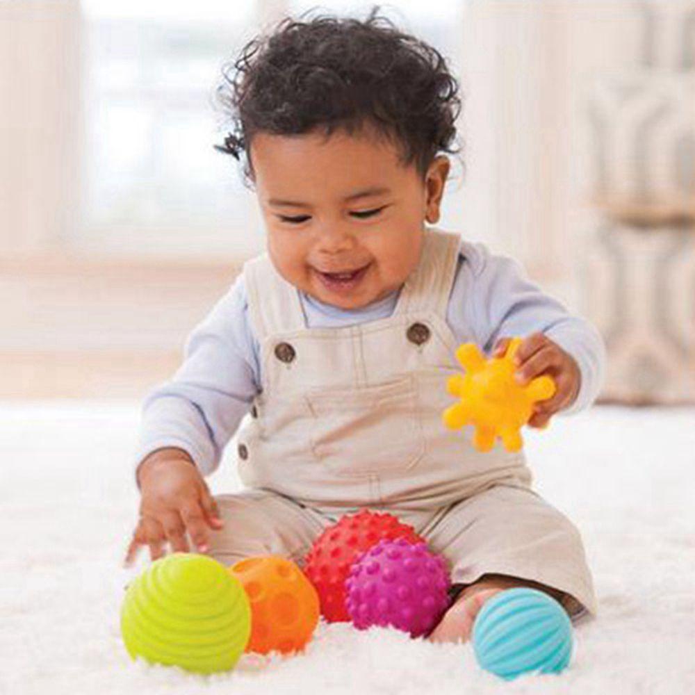 Babelemi Игрушки для маленьких детей мягкий шарик шуршание музыка колокол мяч чувственное восприятие веселые развивающие Игрушечные лошадки д...
