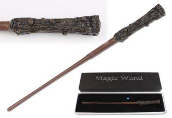 Neueste Version Harry Potter Led-beleuchtung Film Cosplay Zaubertricks Rolle Spielen Magische Stab In Box (senden mehr 1 batterie)