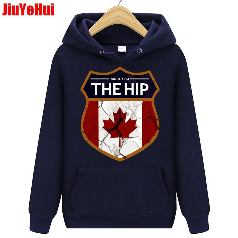 Vintage Men Hoodies The HIP Tragically Canada SincE Brand Clothing Man's Hip Hop Top Hoodie Men's Sweatshirts Men Jackets