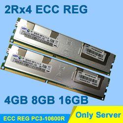 Памяти сервера Высокое качество DDR3 1333 мГц DDR3 16 ГБ 8 ГБ 4 ГБ pc3-10600r 2rx4 ECC Reg RDIMM Оперативная память ddr 3 1333 memoria пожизненная Гарантия