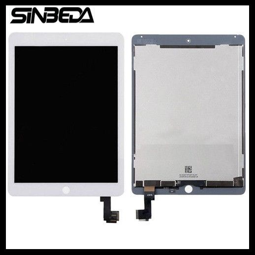 Sinbeda 2048*1536 LCD For iPad Air 2 A1567 A1566 LCD Display Panel Touch Screen Digitizer Assembly for iPad 6 Replacement Parts