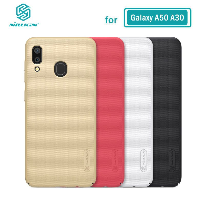 Case for Samsung Galaxy A50 A10 A30 A40 A60 A70 Nillkin Frosted Shield PC Hard Back Casing Cover sFor Samsung A30 Case