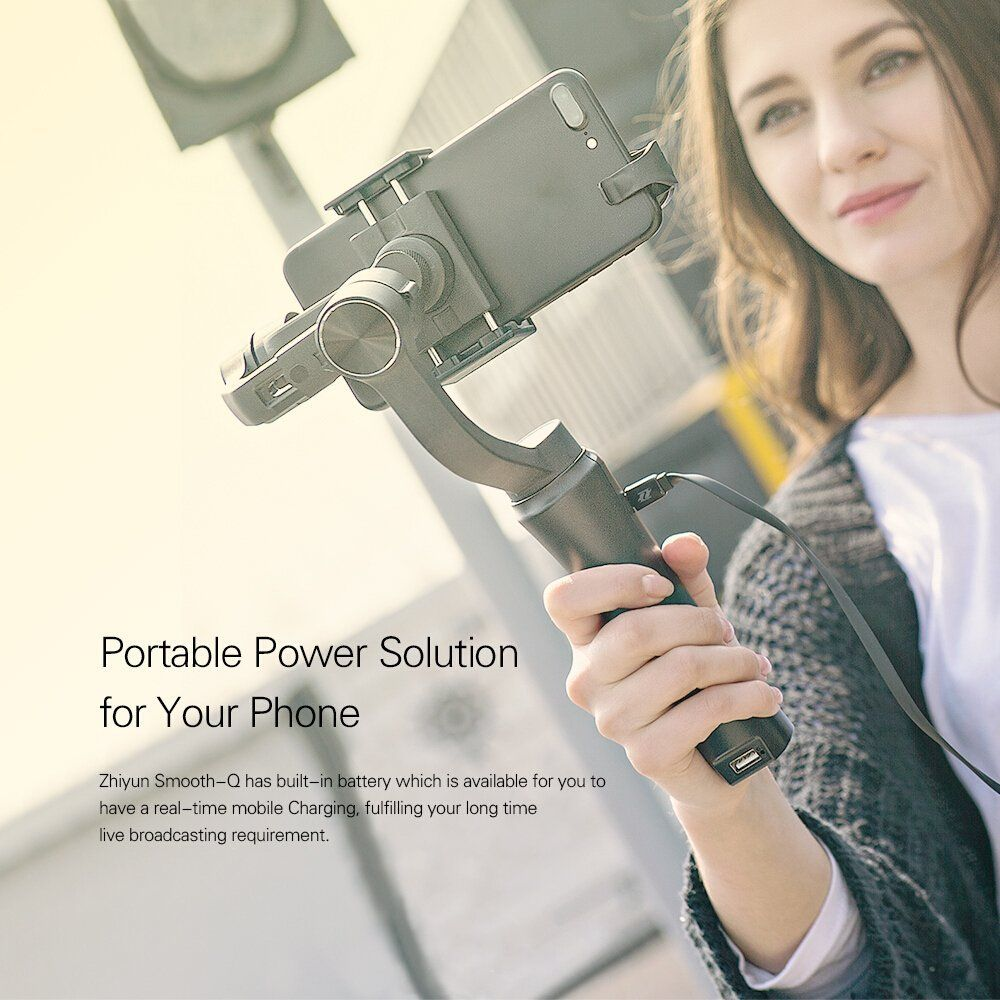 Zhiyun Smooth-Q 3-Axis Handheld Gimbal for Smartphone Up to 6
