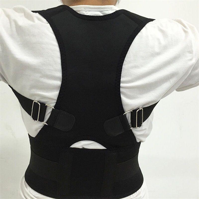 Men And Women Magnetic Corrector Postural Adjustable Posture Corrector Back Brace Support Corset Lumbar Corset Brace Belts