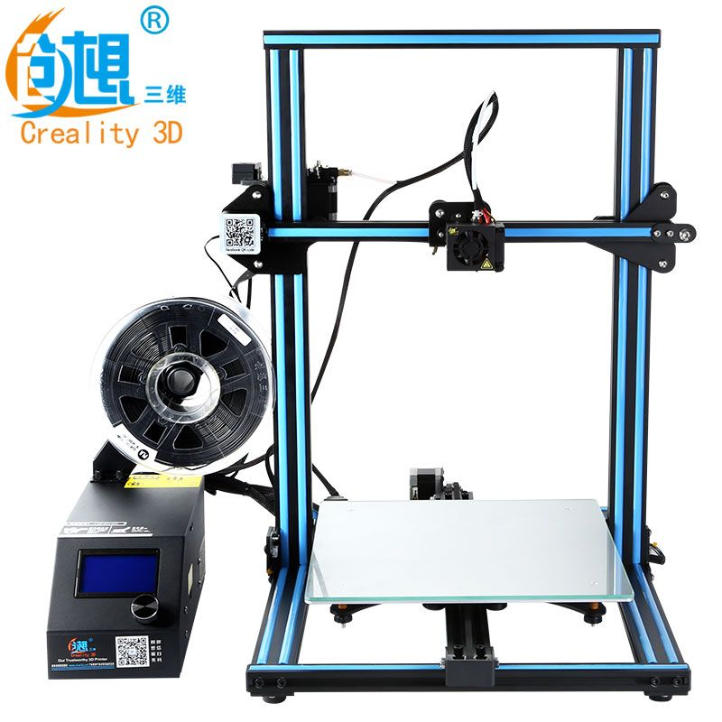 CREALITY 3D Official CR-10S/CR-10 DIY 3D Printer Kit 300*300*400mm Printing Size Dual Z Rod Filament Detector/Sensor Optional