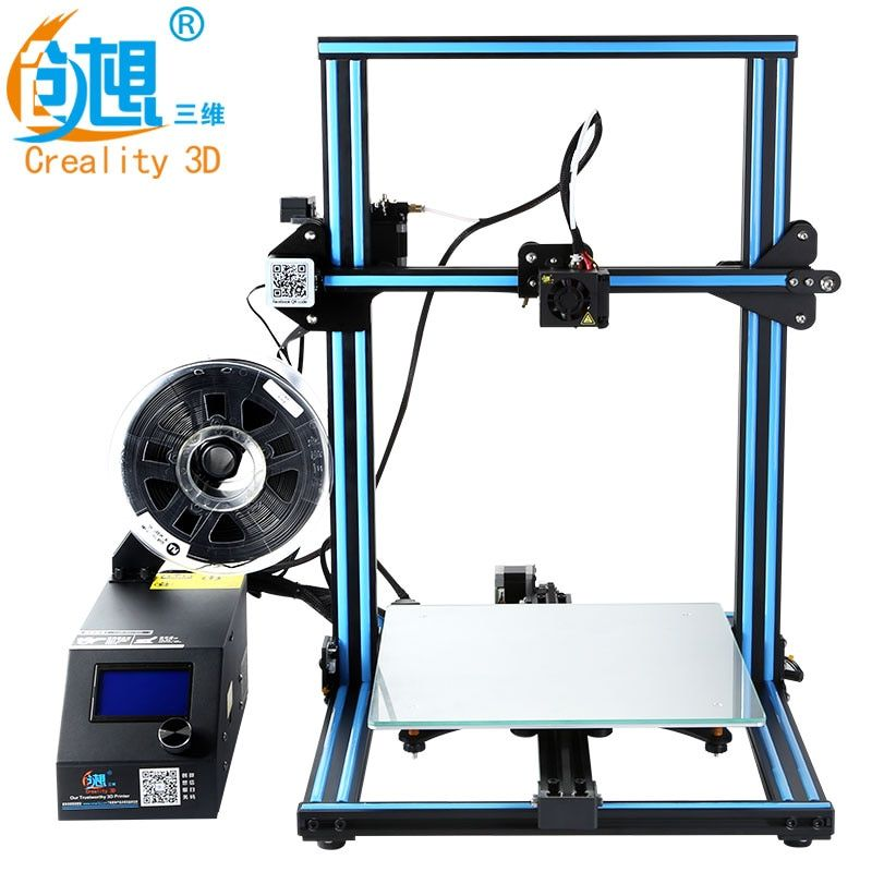 CREALITY 3D Official CR-10S/CR-10 DIY 3D Printer Kit 300*300*400mm Printing Size Dual Z Rod Filament Detector/Sensor Optional