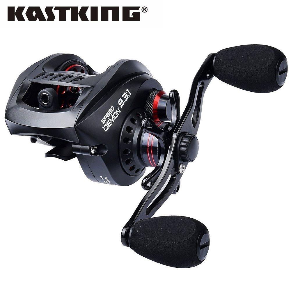 KastKing Speed Demon Magnetic Brake System Baitcasting Fishing Reel Gear Ratio 9.3:1 Fastest Baitcaster Reels Fishing Tackle