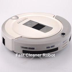 Más aspirador avanzada Robot para el hogar (barrido, vacío, fregona, esteriliza) con control remoto, pantalla LCD táctil, schedule