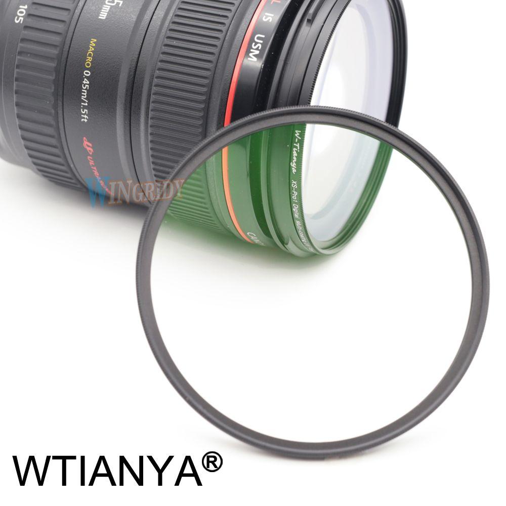 UV Filtre WTIANYA MC UVLens Calibre Filtre 52 58 37 40.5 43 46 49 55 62 67 72 77 82mm Caméra Filtres pour Canon Nikon Appareil Photo REFLEX NUMÉRIQUE